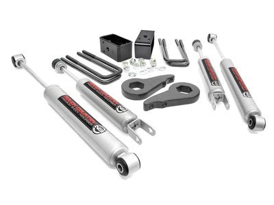 Rough Country 1.5-2.5 inch Leveling Lift Kit for the Silverado/Sierra 1500 4WD RC28330