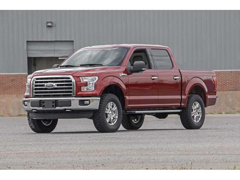 52220 rough country 2 inch leveling lift kit for the ford f 150