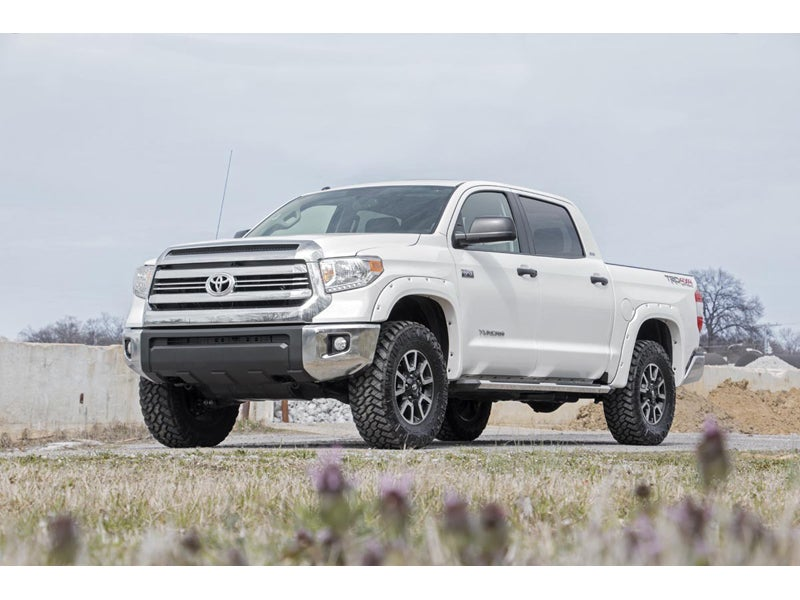 Tundra Toyota Suspension Lift Fuel Assault Black Aggressive Outside Fender likewise Toyota Ta a Trd Sport V Lifted On S For Sale moreover Toyota Tundra Platinum X Inch Pro  p Lift Inch Xd Wheels additionally Lrg also F D. on 2015 toyota tundra 4 inch lift