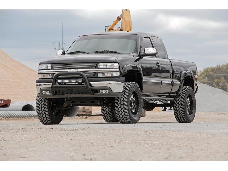 6 Inch Lift Kit For Chevy Silverado 1500 >> Rough Country 6 Inch Ntd Suspension Lift Kit For The Silverado Sierra 1500 4wd