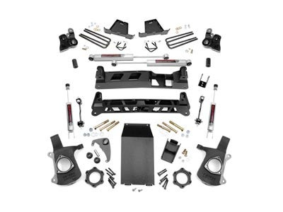 Rough Country 6 inch NTD Suspension Lift Kit for the Silverado, Sierra 1500 4WD RC27220A