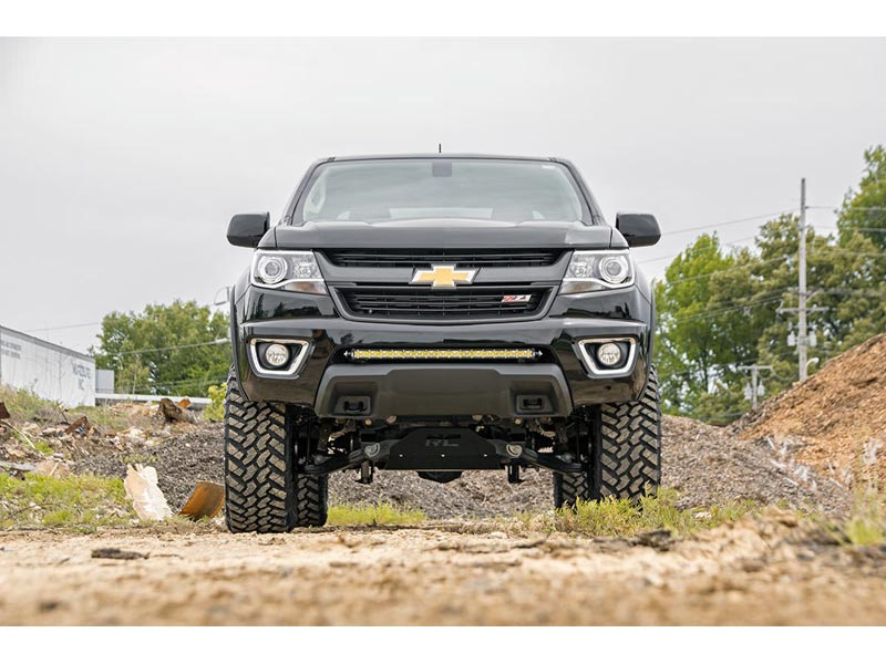 Lifted Chevy Colorado >> Rough Country 6 Inch Suspension Lift Kit With Lifted Struts For The Chevy Colorado Gmc Canyon With Diesel Engine
