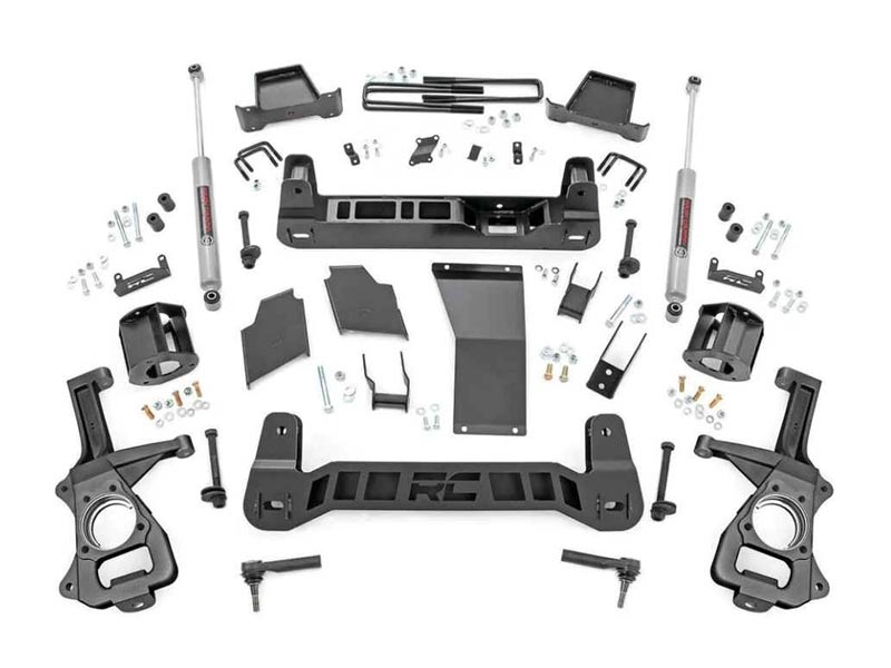 Suspension Lift Kit | Rough Country | 4 Inch | GM