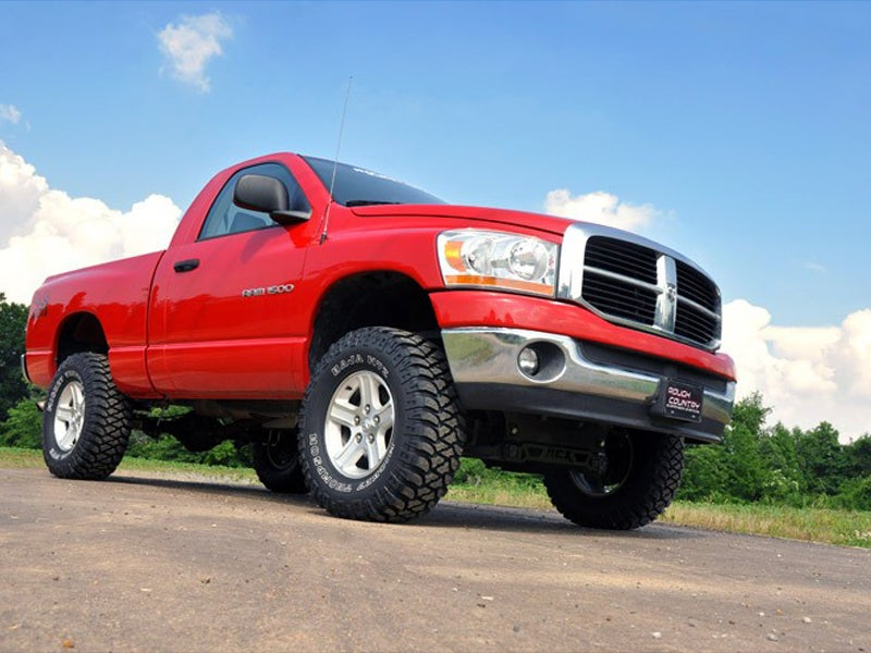 rough country 4 inch suspension lift kit for the 4wd dodge ram 1500. Cars Review. Best American Auto & Cars Review
