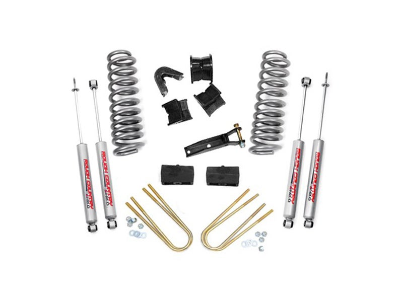 Rough Country 4 inch Suspension Lift Kit for the Ford F-100, F-150 4WD