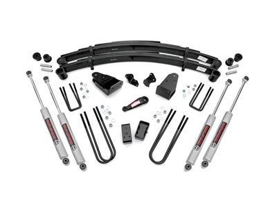 Rough Country 4 inch Suspension Lift Kit for the Ford F-250 4WD RC490-87UP30