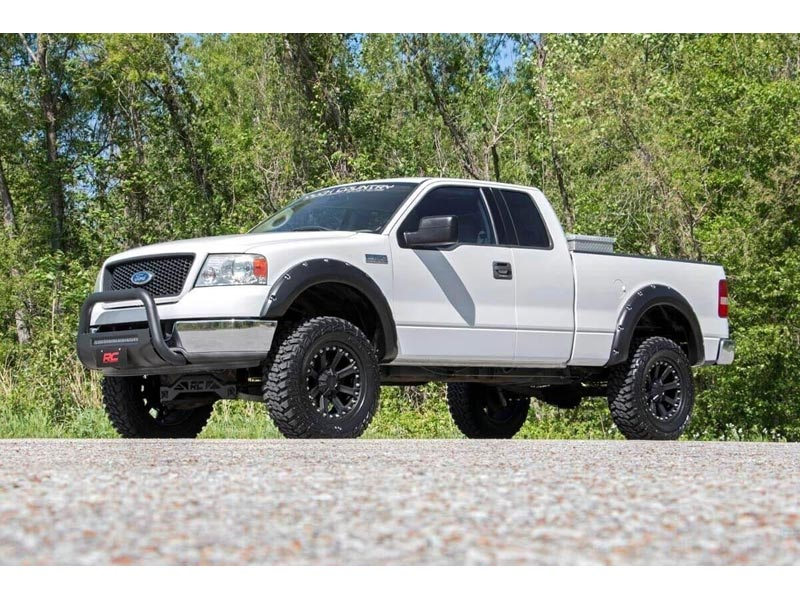 F150 4 Inch Lift >> Rough Country 4 Inch Suspension Lift Kit For The Ford F 150 2wd