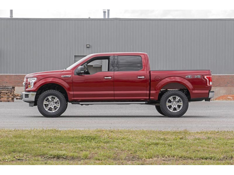 554 20 Rough Country 2 Inch Leveling Lift Kit For The Ford F 150