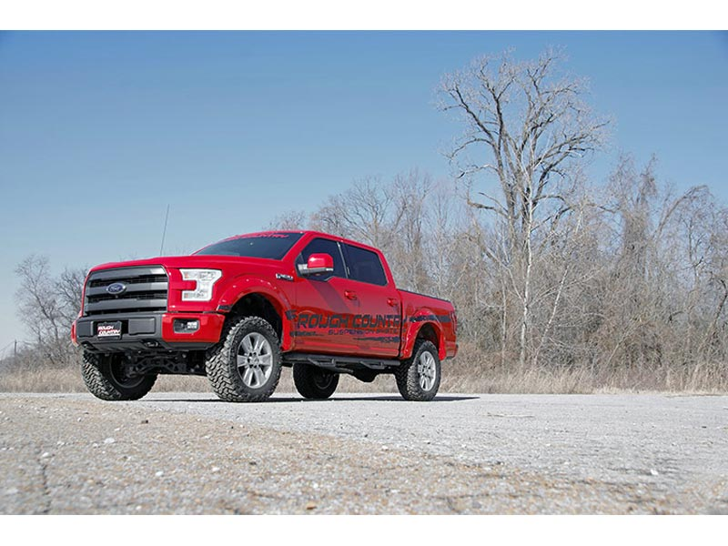 F150 4 Inch Lift >> Suspension Lift Kit Rough Country 4 Inch Ford F 150 4wd