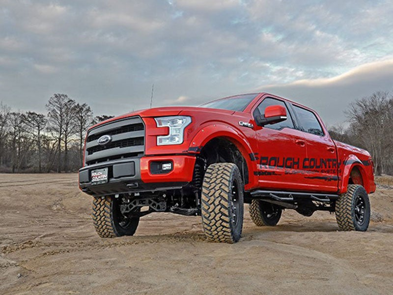 6 Inch Lift Kit For Ford F150 4X4 >> Rough Country 6 Inch Suspension Lift Kit For The Ford F 150 4wd