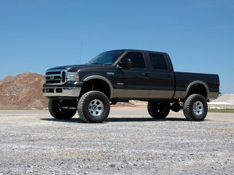 Ford F 250 Lifted >> Rough Country 8 Inch 4 Link Suspension Lift Kit For The Ford F 250 F 350 4wd Diesel Engine