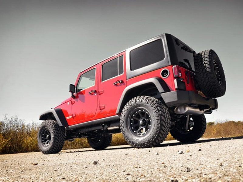 Lift Kit For The Jeep JK Wrangler Unlimited