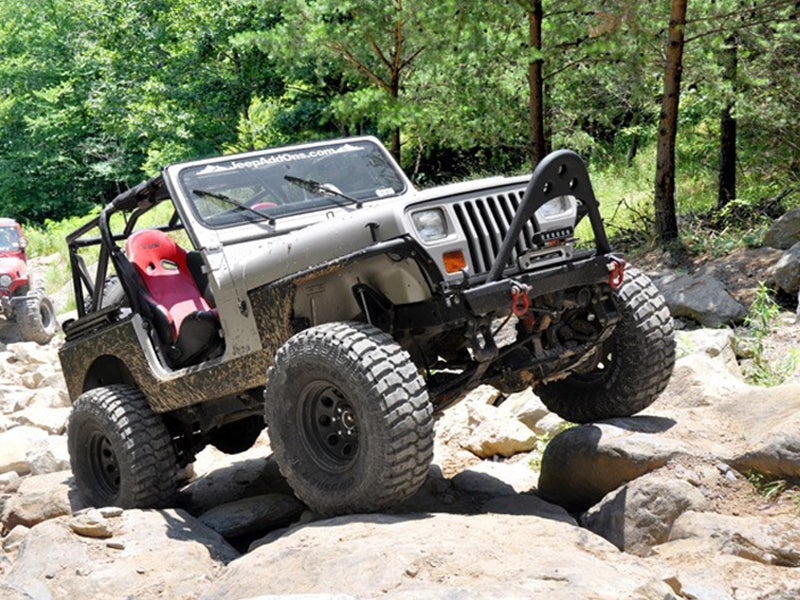 4 Inch Suspension Lift Kit For The Jeep Wrangler 4WD   Manual Steering