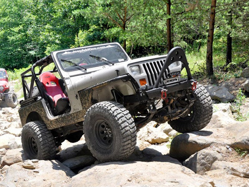 4 Inch Suspension Lift Kit For The Jeep YJ Wrangler
