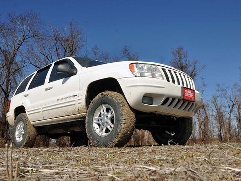 639p Rough Country 4 Inch X Series Suspension Lift Kit For The