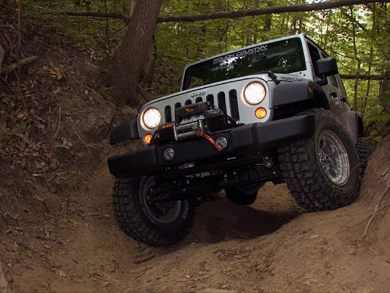 4 Inch Suspension Lift Kit For The Jeep Wrangler 4WD. Rough Country RC682S