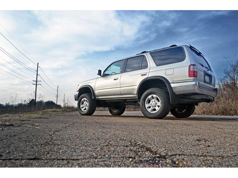 Rough Country 3 Inch Suspension Lift Kit 77130 Side View