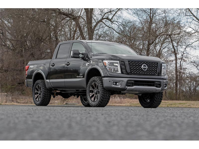 3 Inch Lift Kit >> 83430 Rough Country 3 Inch Suspension Lift Kit For The Nissan Titan