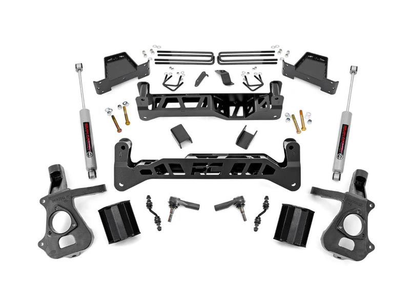 Suspension Lift Kit | Rough Country | 7 Inch | GM