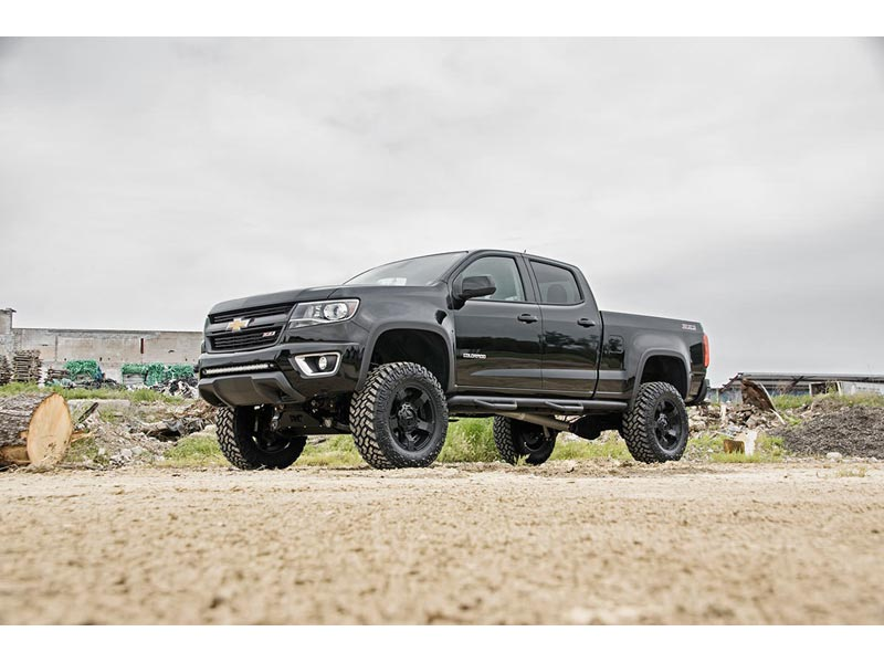 Lifted Chevy Colorado >> 24132 Rough Country 6 Inch Suspension Lift Kit For The Colorado Canyon