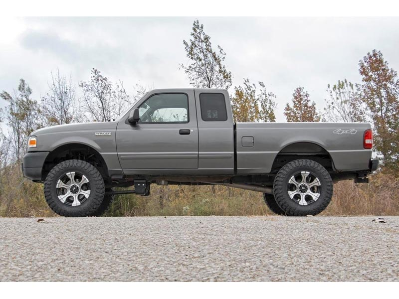 Good Rough Country 5 Inch Suspension Lift Kit 43130 Side View