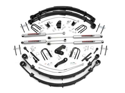 Rough Country 6 inch Suspension Lift Kit for the Jeep Wrangler 4WD - Power  Steering