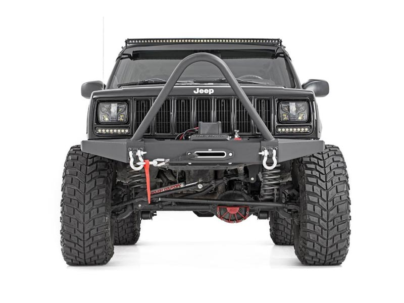 Lifted Jeep Cherokee >> Rough Country 4 5 Inch Suspension Lift Kit For The Jeep Cherokee
