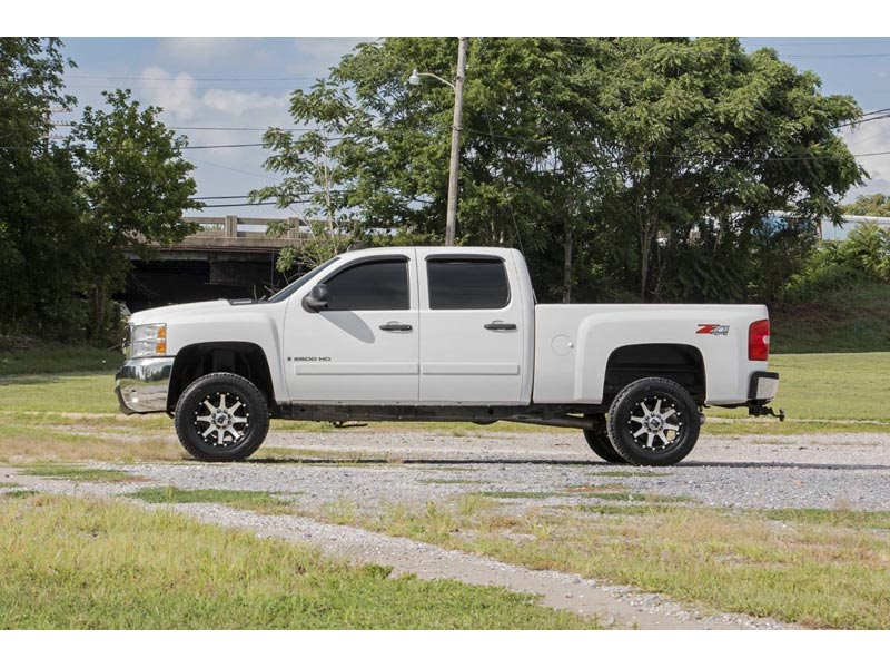 859830 rough country 3 inch suspension lift kit for the silverado rough country 3 inch suspension lift kit 859830 side view freerunsca Gallery