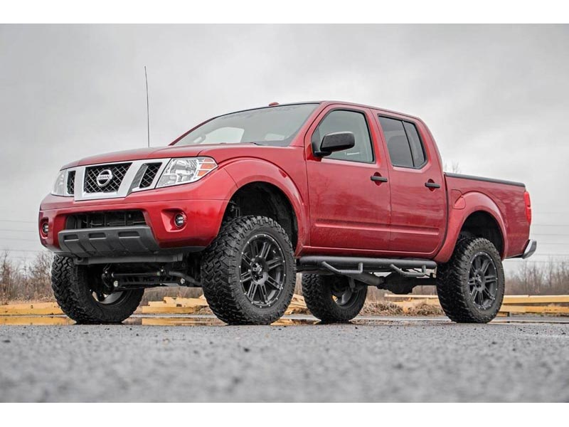 Lifted Nissan Frontier >> 87930 Rough Country 6 Inch Suspension Lift Kit For The Nissan Frontier
