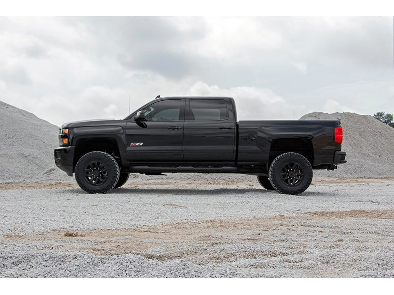 Rough Country 3 5 inch Suspension Lift Kit with Upper Control Arms for the  Silverado, Sierra 2500HD, 3500HD, 2WD/4WD