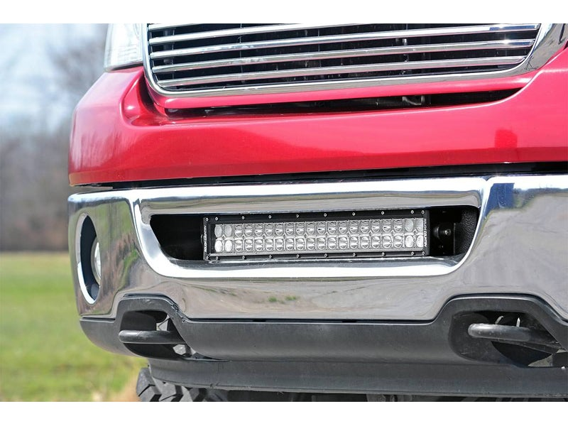 70527 rough country 20 inch led light bar hidden bumper mounts rough country 20 inch led light bar hidden bumper mounts 70527 mozeypictures Image collections