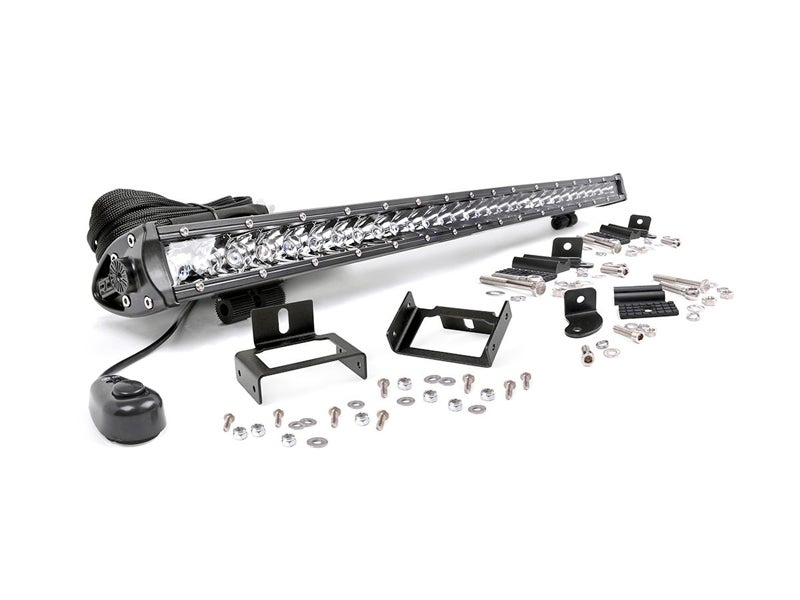70531 rough country single row led light bar grille mount with 30 rough country rc70531 mozeypictures Gallery
