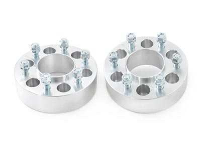 Wheel Spacer | Rough Country | 2 inch | 6-by-135 Bolt Pattern | Pair RC10087
