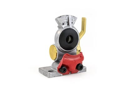 Gladhand - Emergency, Aluminum Body, Red with Shut Off 441014