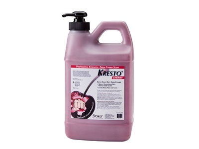 Kresto Cherry Heavy Duty Hand Cleaner - 1/2 Gallon Pump Bottle 99027564