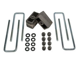 Add a lift to your truck with a suspension Lift Block kit.