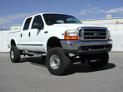 Take your Ford F250 to the extreme with Tuff Country Lift kits