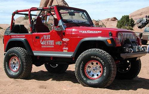 Tuff Country 4 Inch Lift Kit Without Shock Absorbers 44902