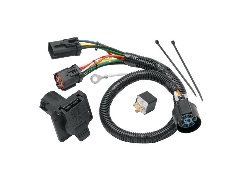 118247, tekonsha replacement wiring harness for the ford f 150  splicing into oem trailer wiring harness question nissan #47