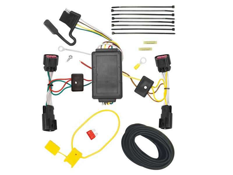 118494, tekonsha t one trailer connector for the chevy equinox, gmc 1963 gmc pickup wiring schematic gmc terrain wiring harness #16