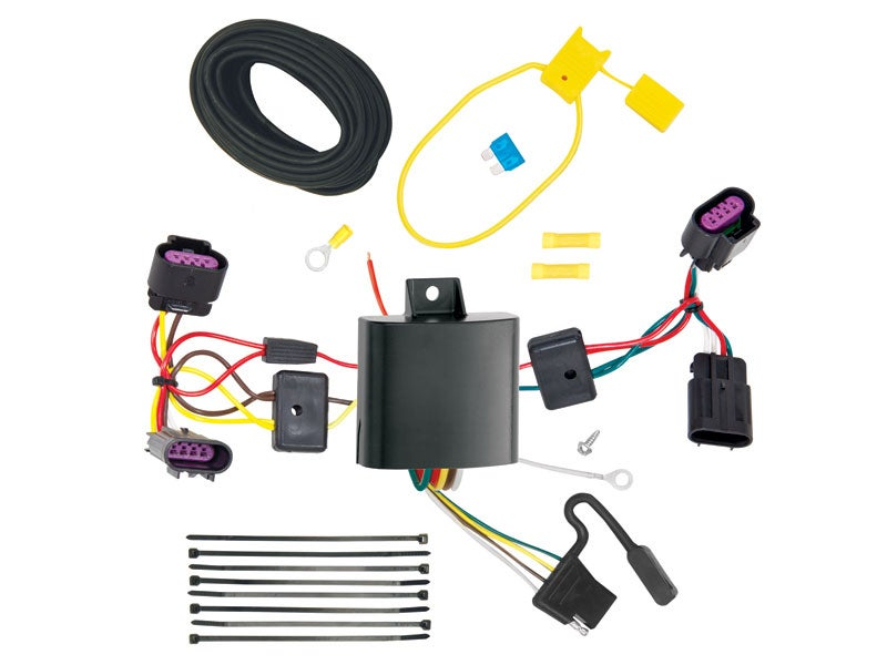 118577 tekonsha t one trailer connector for the chrysler. Black Bedroom Furniture Sets. Home Design Ideas