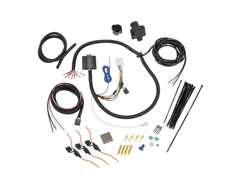 tow package wiring harness 7 way for the toyota highlander  tekonsha� 3062 p 2 plug brake control