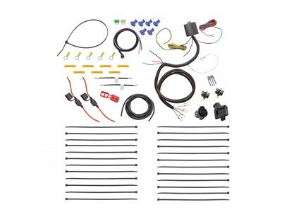 Universal Wiring Harness Kit with ModuLite, Backup and Brake Controller Harness - 7-Way Trailer Connector 22551