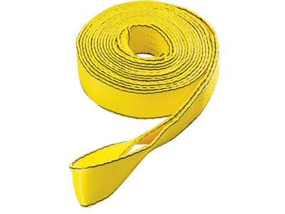 "2"" x 20' Tow Strap with Loop Ends 1017800"