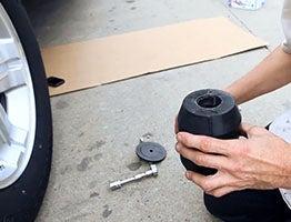 assemble timbren rubber springs