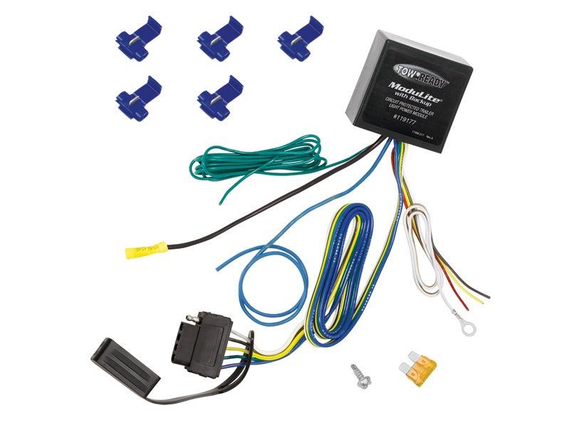 Pleasant Plug Loop Car And Trailer End Wiring Harness 118215 Truckspringcom Wiring 101 Taclepimsautoservicenl