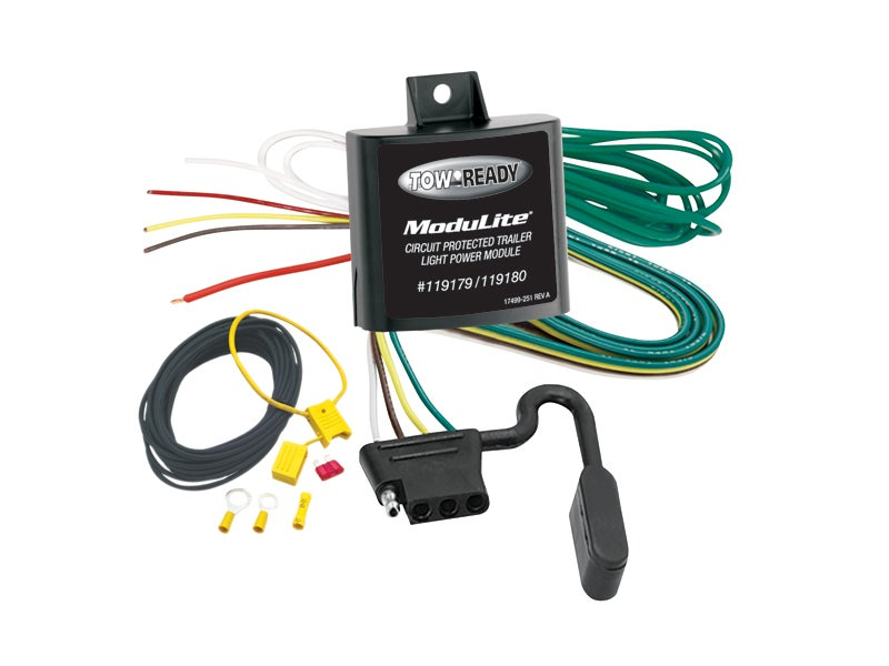 tow ready modulite protector with integrated circuit protection 119180 rh truckspring com tow ready 20321 wiring diagram tow ready 20321 wiring diagram