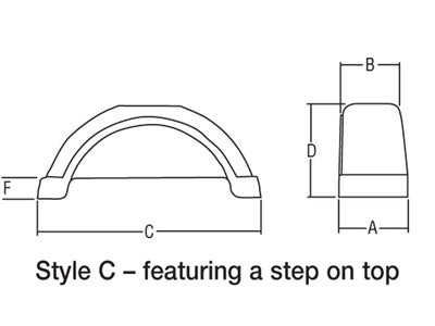 Trailer Fender Dimensional Information