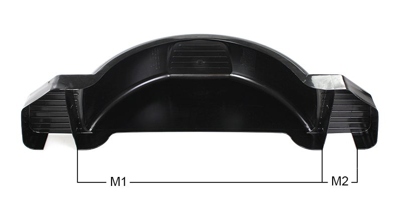M1 and M2 Dimensions