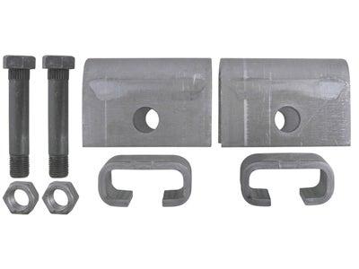 Single Axle Trailer Hanger Kit for Slipper Springs - 1-1/2 inch Front Height APS3SE